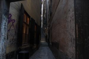 An Alleyway of Gamla Stan