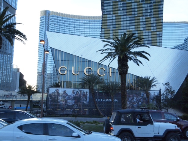 There's a giant fashion mall on the Vegas Strip. I went in and found ridiculously expensive things that I didn't need and therefore did not purchase.